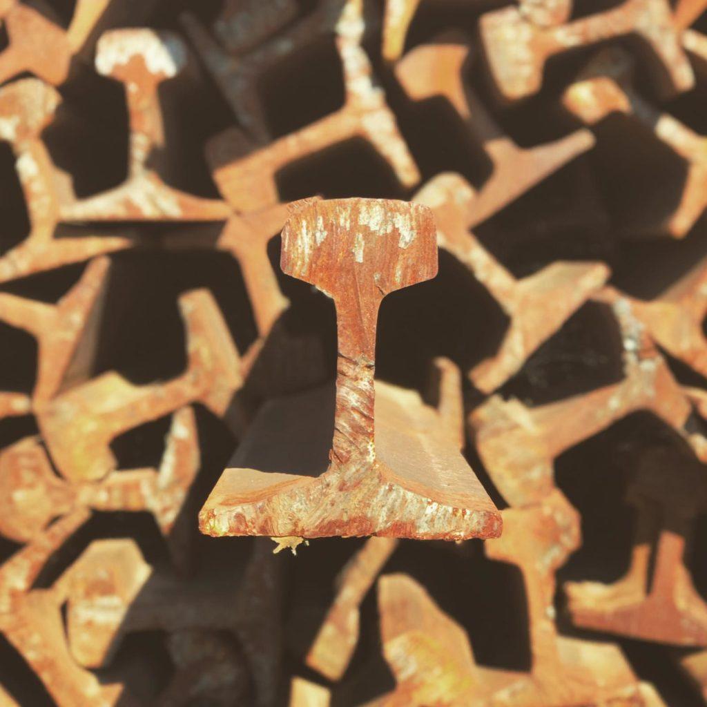 Vigas de hierro - Gestión de metales