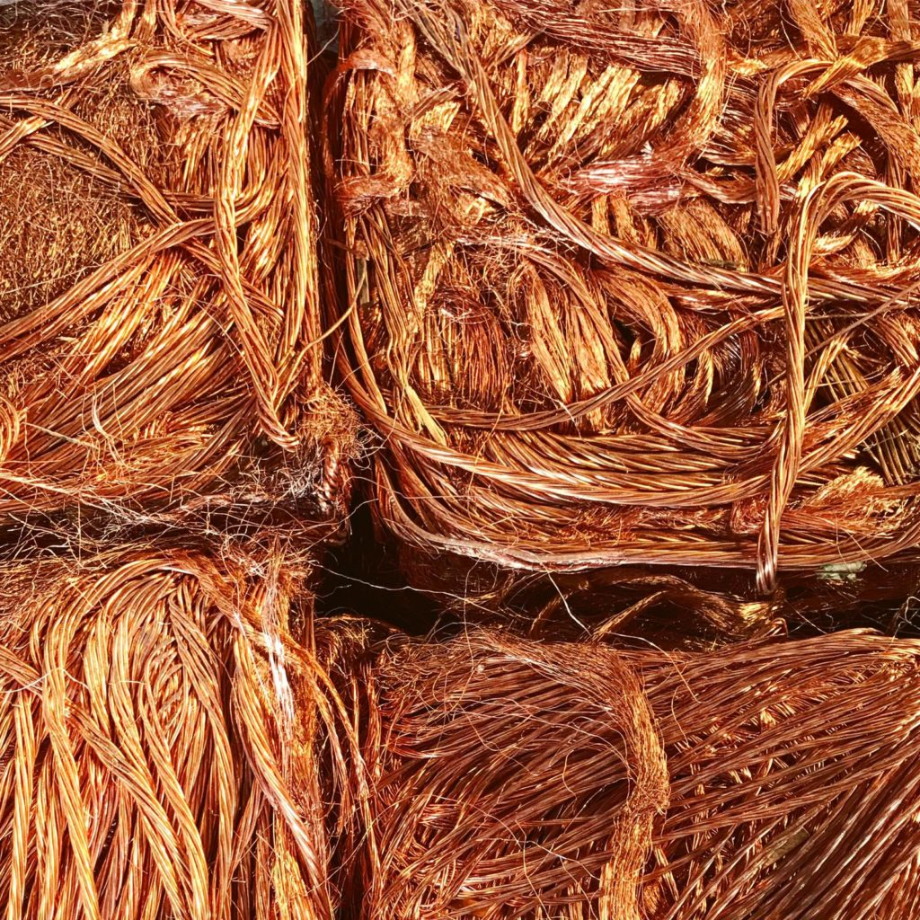 Gestión de metales - Cobre Millberry