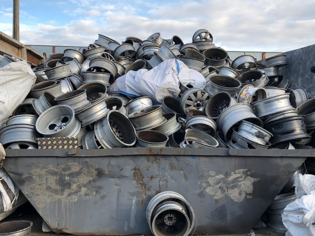 Reciclaje de llantas - Gestión de metales