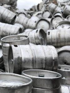 Gestión de residuos - Barriles de acero